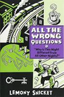"""""""Why Is This Night Different from All Other Nights?"""" 0316123048 Book Cover"""