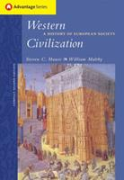 Western Civilization: A History of European Society, Compact Edition 0534621643 Book Cover