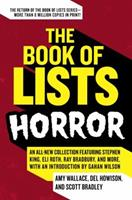 The Book of Lists: Horror 0061537268 Book Cover