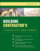 Building Contractor's Checklists and Forms 0071441727 Book Cover