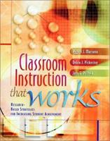 Classroom Instruction that Works: Research-Based Strategies for Increasing Student Achievement (ASCD) 0871205041 Book Cover