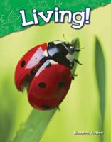 Living!: Content and Literacy in Science Kindergarten 1480745200 Book Cover