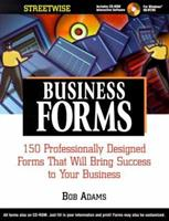 Streetwise Business Forms With Cd-Rom 1580621325 Book Cover