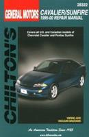 GM Cavalier and Sunfire, 1995-00 (Chilton's Total Car Care Repair Manual) 0801991145 Book Cover
