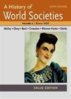 A History of World Societies Value, Volume II:Since 1450 1457685337 Book Cover