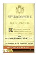 1863 Italy & the Hawaiian Kingdom Treaty: Hawaii War Report Hawaii Book Club 153466811X Book Cover