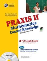 The Best Teachers' Test Preparation for the Praxis II Mathematics Content Knowledge Test (Test Code 0061) (REA Test Preps) 0738603635 Book Cover