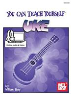 Mel Bay You Can Teach Yourself Uke (You Can Teach Yourself) (You Can Teach Yourself) 1562224549 Book Cover