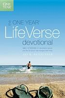 The One Year Life Verse Devotional (One Year Book) 1414312628 Book Cover