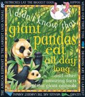 Giant Pandas Eat All Day Long 0761308393 Book Cover
