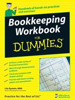Bookkeeping Workbook for Dummies 0470169834 Book Cover