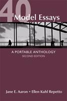 40 Model Essays: A Portable Anthology 0312443250 Book Cover