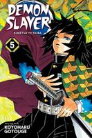 Demon Slayer: Kimetsu no Yaiba, Vol. 5 1974700569 Book Cover