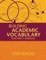 Building Academic Vocabulary: Teacher's Manual 1416602348 Book Cover