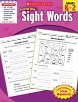 Success with Sight Words: Grades K-2 0545201128 Book Cover