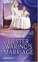 Hester Waring's Marriage (Mills & Boon Historical Romance) 0373304560 Book Cover