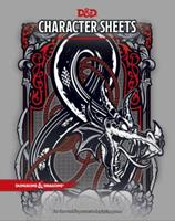 D&D Character Sheets 0786966181 Book Cover