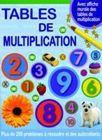 Tables de Multiplication: Plus de 280 Probl?mes ? R?soudre Et Des Autocollants 144312589X Book Cover