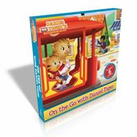 On the Go with Daniel Tiger!: You Are Special, Daniel Tiger!; Daniel Goes to the Playground; Daniel Tries a New Food; Daniel's First Fireworks; Daniel's New Friend; Nighttime in the Neighborhood 1481467999 Book Cover