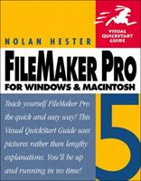 FileMaker Pro 5 for Windows and Macintosh: Visual QuickStart Guide 020170417X Book Cover