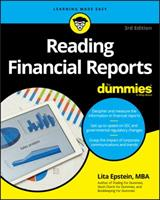 Reading Financial Reports For Dummies 0470376287 Book Cover