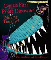 Captain Flinn and the Pirate Dinosaurs: Missing Treasure! 1416967451 Book Cover