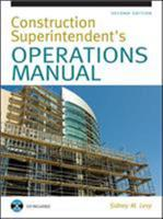 Construction Superintendent Operations Manual 0071412050 Book Cover