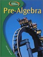Pre-Algebra, Student Edition 0078252008 Book Cover