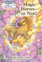 Wind Dancers #12: Magic Horses--or Not? 0312605455 Book Cover