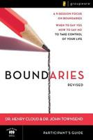 Boundaries: Participant's Guide 0310224535 Book Cover