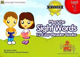 Meet the Sight Words - Level 1 - Easy Reader Books (boxed set of 12 books) B00QFWOJMC Book Cover