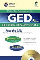 GED  (REA) -- The Best Test Preparation for the GED (Test Preps) 0878914307 Book Cover