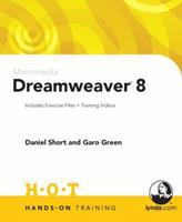 Macromedia Dreamweaver 8 Hands-On Training 0321293894 Book Cover