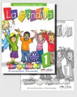 La Pandilla 1: Curso de Espanol Para Ninos y Ninas [With Stickers and Workbook] 8477119368 Book Cover