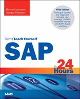 SAP in 24 Hours, Sams Teach Yourself 0672337401 Book Cover