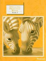 Harcourt School Publishers Trophies: Student Edition Spelling Practice Book Grade 3 (Trophy) 0153235004 Book Cover