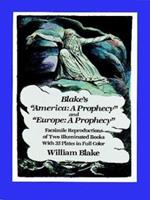 America: A Prophecy/Europe: A Prophecy 0486245489 Book Cover