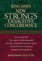 King James Version  New Strong's Exhaustive Concordance (Concise Reference) 0934298378 Book Cover