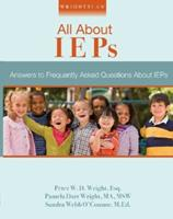 Wrightslaw: All about IEPs 1892320207 Book Cover