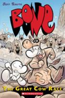 Jeff Smith's Bone: The Great Cow Race Artist's Edition Hc 0439706394 Book Cover