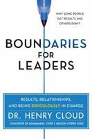Límites para líderes: Resultados, relaciones y estar ridículamente a cargo 0062206338 Book Cover