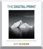 The Digital Print: Preparing Images in Lightroom and Photoshop for Printing 0321908457 Book Cover