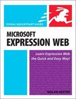 Microsoft Expression Web: Visual QuickStart Guide 0321492234 Book Cover