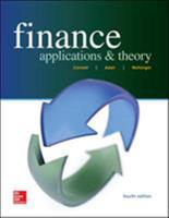 Finance: Applications & Theory 0073382256 Book Cover