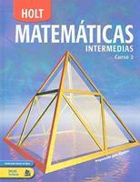 Matematicas Intermedias, Curso 2 0030710987 Book Cover