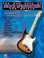 The New Best of Bruce Springsteen for Guitar: Easy Tab Deluxe 1576235181 Book Cover
