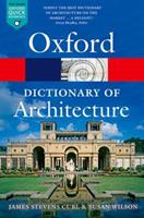 The Oxford Dictionary of Architecture 019967499X Book Cover