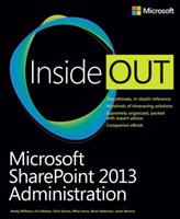 Microsoft SharePoint 2013 Administration Inside Out 0735675392 Book Cover