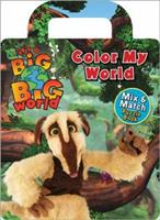 It's A Big Big World Mix and Match Jigsaw Puzzle Book: Color My World 0696235447 Book Cover