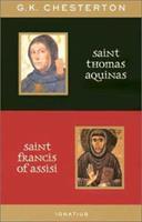 Saint Thomas Aquinas and Saint Francis of Assisi 0898709458 Book Cover